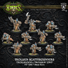 Trollblood Scattergunners Unit   (10)